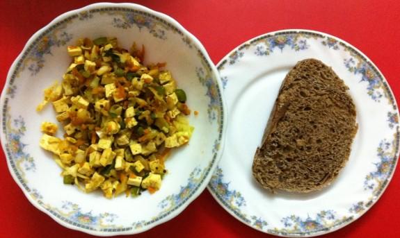 Tofu South India Style